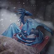 Куклы и игрушки ручной работы. Ярмарка Мастеров - ручная работа Дракон - Хозяин Зимы. Handmade.