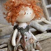 Куклы и игрушки ручной работы. Ярмарка Мастеров - ручная работа текстильная куколка ФЕНЬКА. Handmade.