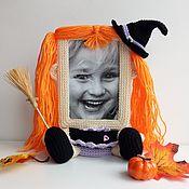 Куклы и игрушки ручной работы. Ярмарка Мастеров - ручная работа Фоторамка Маленькая Ведьмочка. Handmade.
