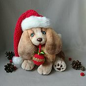 Куклы и игрушки handmade. Livemaster - original item Puppy Teddy the Symbol of the year!. Handmade.