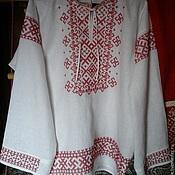 Русский стиль ручной работы. Ярмарка Мастеров - ручная работа рубаха мужская свадебная с вышивкой. Handmade.