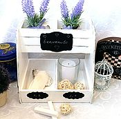 Для дома и интерьера handmade. Livemaster - original item Desktop organizer shelf stand. Handmade.