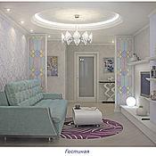 Дизайн и реклама ручной работы. Ярмарка Мастеров - ручная работа Дизайн квартиры в современном стиле. Handmade.
