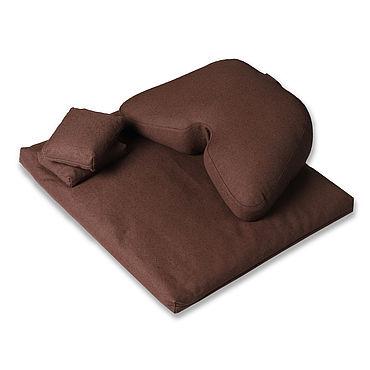Феншуй ручной работы. Ярмарка Мастеров - ручная работа Комплект: подушка для медитации Asana Comfort. Handmade.