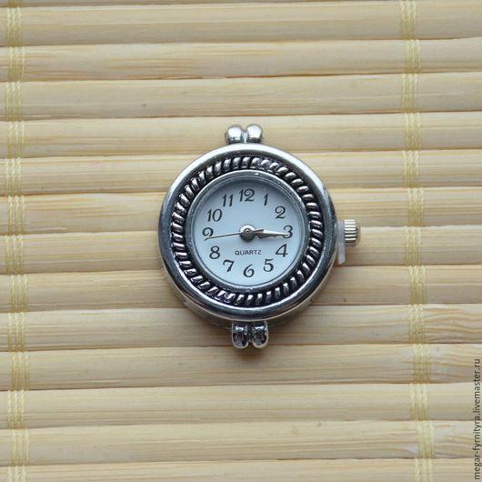 Для украшений ручной работы. Ярмарка Мастеров - ручная работа. Купить Часы основа 9. Handmade. Серебряный, часы
