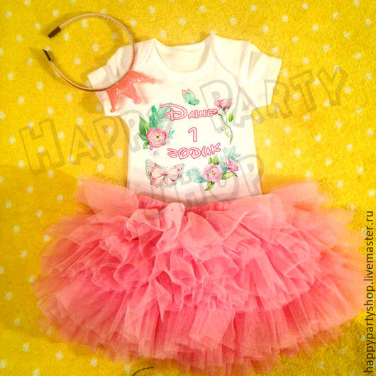 Одежда для девочек, ручной работы. Ярмарка Мастеров - ручная работа. Купить Комплект для фотосессии маленькой принцессы (юбка пачка+ бодик). Handmade.