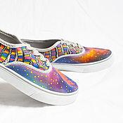 """Обувь ручной работы. Ярмарка Мастеров - ручная работа Кеды """"Надел, и на ГОА!"""" 36 (35-35,5) размер.. Handmade."""