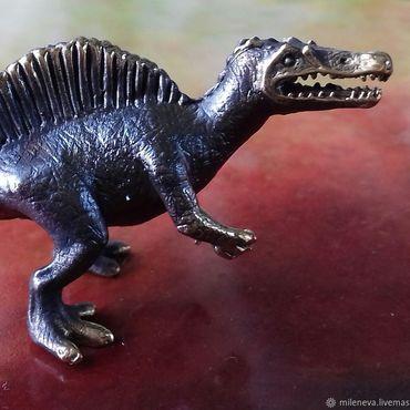 Для дома и интерьера ручной работы. Ярмарка Мастеров - ручная работа Статуэтка из бронзы Динозавр ( Спинозавр). Handmade.