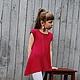 туника, туника вязаная, туника детская, туника для девочки, вязаная одежда для детей, вязание для детей, осень 2016