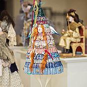 Куклы и игрушки ручной работы. Ярмарка Мастеров - ручная работа Елка рыжуля. Handmade.