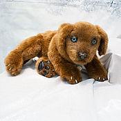 Куклы и игрушки handmade. Livemaster - original item Labrador puppy chocolate. Handmade.