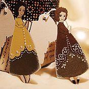 Подарки к праздникам ручной работы. Ярмарка Мастеров - ручная работа Ангелы - Золотая коллекция - 2. Handmade.