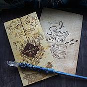 Сувениры и подарки handmade. Livemaster - original item The Marauders Map. Handmade.