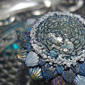 """Украшения ручной работы. Ярмарка Мастеров - ручная работа """"Астра Галактика"""", кольцо с космическим цветком. Handmade."""