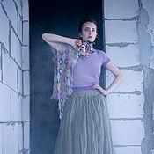 Одежда ручной работы. Ярмарка Мастеров - ручная работа Блуза Satin. Handmade.