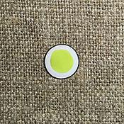Материалы для творчества handmade. Livemaster - original item Nadglazurnaya paint Dulevo №5202 light green. Handmade.