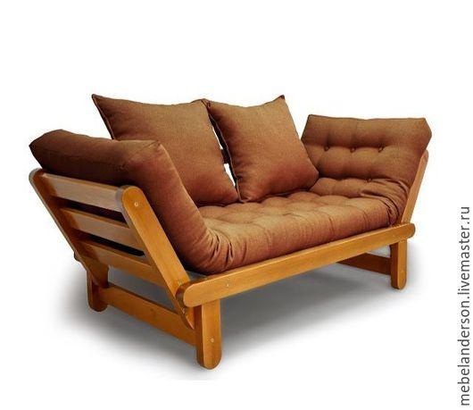 Мебель ручной работы. Ярмарка Мастеров - ручная работа. Купить Диван Slamber. Handmade. Коричневый, диван, каркас, сосна