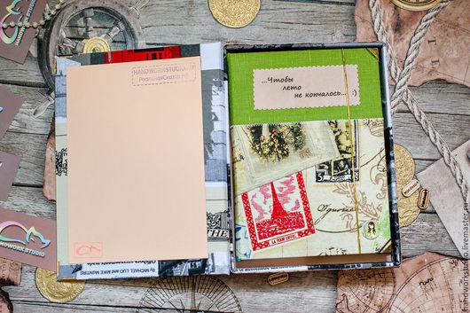 Фотоальбомы ручной работы. Ярмарка Мастеров - ручная работа. Купить Фотоальбом. Handmade. Комбинированный, фотографии, женщине, Идея для подарка, бумага