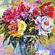 'Happiness Is Here' picture of a bouquet of flowers, Pictures, Voronezh,  Фото №1