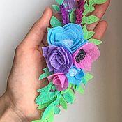 Аксессуары для фотосессии ручной работы. Ярмарка Мастеров - ручная работа Повязка на голову «весна». Handmade.