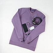 Мужская одежда handmade. Livemaster - original item Men`s sweatshirts made of footer fleece and loop. Handmade.