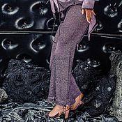 Одежда handmade. Livemaster - original item S_028 straight leg Pants black-Astra.. Handmade.