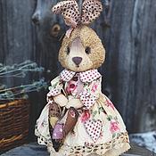 Куклы и игрушки ручной работы. Ярмарка Мастеров - ручная работа Зайка с сердцем.. Handmade.