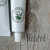 Косметика ручной работы handmade. Livemaster - original item Keratin cream for hair. Handmade.