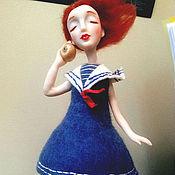 Куклы и игрушки ручной работы. Ярмарка Мастеров - ручная работа Море шумит.... Handmade.