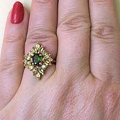 Jewelry Sets handmade. Livemaster - original item Ring with natural stones