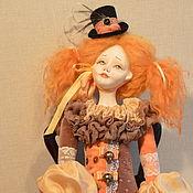 Куклы и пупсы ручной работы. Ярмарка Мастеров - ручная работа Авторская будуарная кукла Лулу. Handmade.