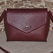 Сумки и аксессуары handmade. Livemaster - original item Bag leather women`s Compact leather handbag Model 702. Handmade.
