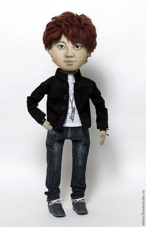 """Портретные куклы ручной работы. Ярмарка Мастеров - ручная работа. Купить Кукла с портретным сходством """"Ён"""". Handmade. Кукла по фотографии"""