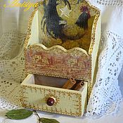 Подарки к праздникам ручной работы. Ярмарка Мастеров - ручная работа Полочка для специй, коробочка для специй. Handmade.