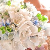 Свадебный салон ручной работы. Ярмарка Мастеров - ручная работа Свадебный букет из фоамирана. Handmade.