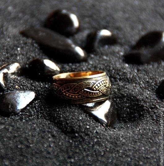 Кольца ручной работы. Ярмарка Мастеров - ручная работа. Купить Триединство: Бронзовое кольцо. Handmade. Бронза, украшения ручной работы