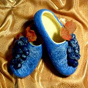 Обувь ручной работы handmade. Livemaster - original item Slippers are felted from natural wool