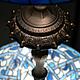 Фрагмент, настольная лампа «АДАЖИО», Тиффани, стекло, D – 40 см, 600 деталей.