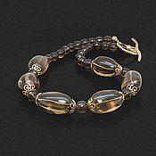 Украшения handmade. Livemaster - original item Necklace Topaz Veil. Handmade.