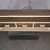 Для дома и интерьера handmade. Livemaster - original item thumbs: Cupboard loft under the TV. Handmade.