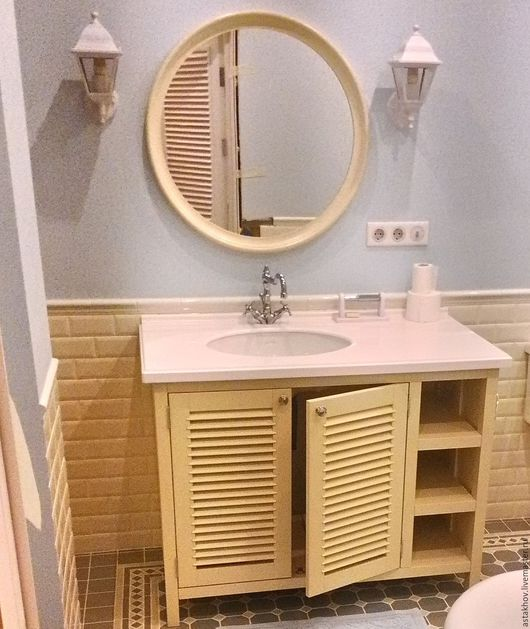 мебель для ванной комнаты, мебель на заказ