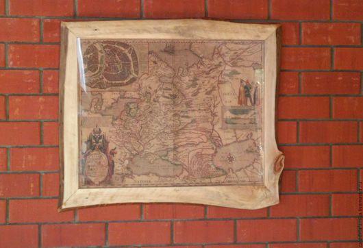 Рама №1  76 х 60 см (стекло, задняя стенка ДВП, крепления на стену)