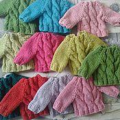 Куклы и игрушки ручной работы. Ярмарка Мастеров - ручная работа свитер для мишек 14. Handmade.