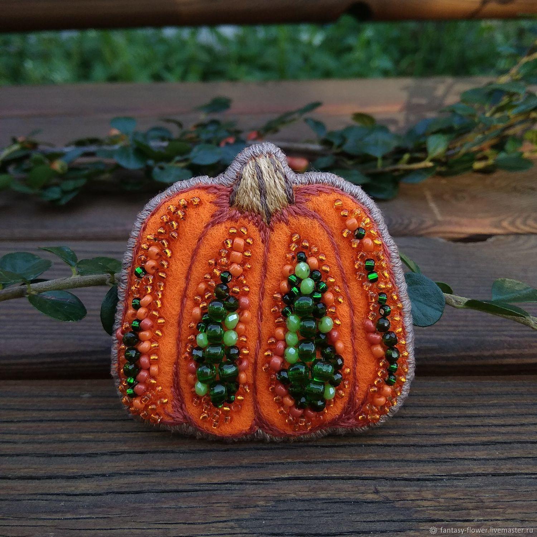 Brooch 'Pumpkin', Brooches, Cherkessk,  Фото №1