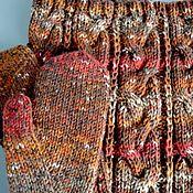 Аксессуары handmade. Livemaster - original item Set Snood mittens. Handmade.