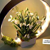 Композиции ручной работы. Ярмарка Мастеров - ручная работа Светильник декоративный, ночник, настольная лампа. Handmade.