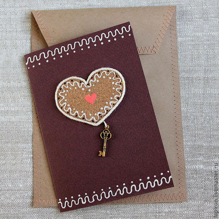 открытка в виде ключа сигариллы