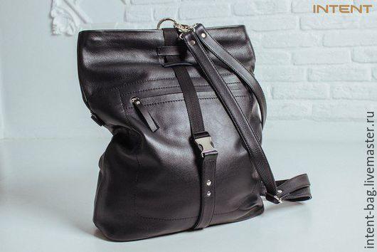 Женские сумки ручной работы. Ярмарка Мастеров - ручная работа. Купить С020. Handmade. Черный, Кожаная сумка, кожа натуральная