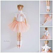 Куклы и игрушки ручной работы. Ярмарка Мастеров - ручная работа Тильда Майя-балеринка. Handmade.