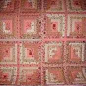 """Пледы ручной работы. Ярмарка Мастеров - ручная работа Комплект для спальни """"Розовые грезы"""". Пэчворк. Handmade."""